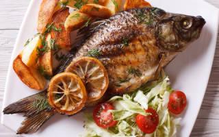 Рыба в духовке карп
