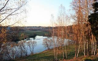 Река воря рыбалка