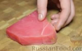 Тартар из тунца рецепт