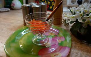 Как приготовить красную икру из горбуши