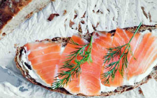 Бутерброды с красной рыбой