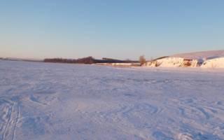 Зимняя рыбалка на хопре