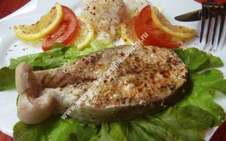 Рыбные стейки в духовке в фольге