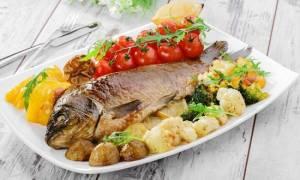 Температура запекания рыбы в духовке