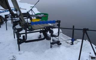 Раскладушка для рыбалки своими руками