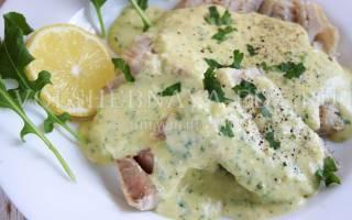 Рецепт рыба по польски