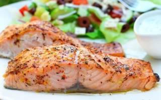 Красная рыба в духовке в сливочном соусе