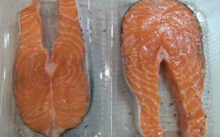 Рыбные стейки в духовке