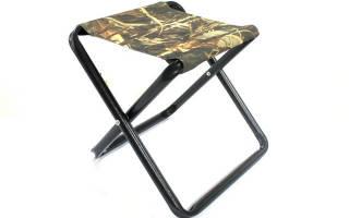 Самодельный стульчик для рыбалки
