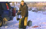 Зимняя рыбалка на червя