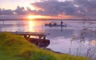 Рыбалка на реке дубна