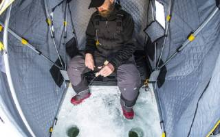 Своими руками палатка для зимней рыбалки
