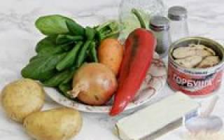 Суп из горбуши с сыром