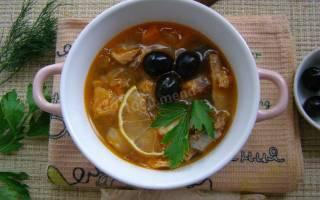 Солянка рыбная суп
