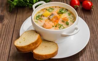 Суп пюре из семги