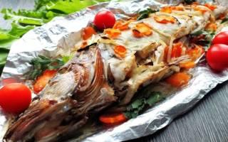 Рыба в духовке судак