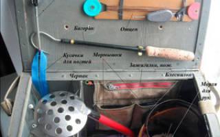 Ящик рыболовный своими руками