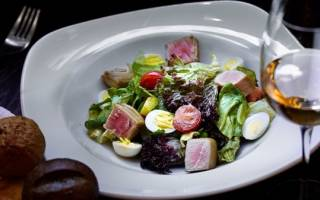 Салат с тунцом от юлии высоцкой