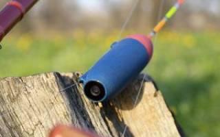 Поплавок с камерой для рыбалки