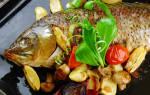 Фаршированный сазан запеченный в духовке