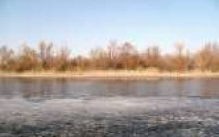 Рыбалка в начале марта