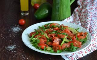 Авокадо с красной рыбой
