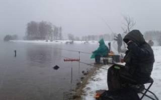 Зимняя рыбалка в десногорске