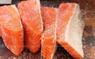 Как хранить соленую форель
