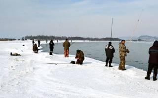 Рыбалка зимой на открытой воде