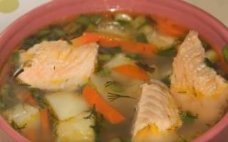 Суп из замороженной рыбы