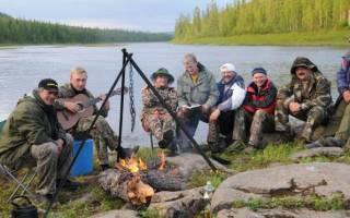 Рыбалка в восточной сибири