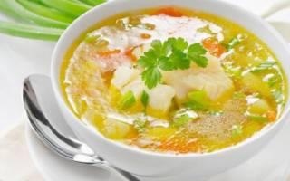 Суп из палтуса