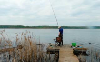 Зимняя рыбалка на межуре