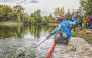 Как ловить форель в пруду