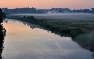 Рыбалка на реке киржач